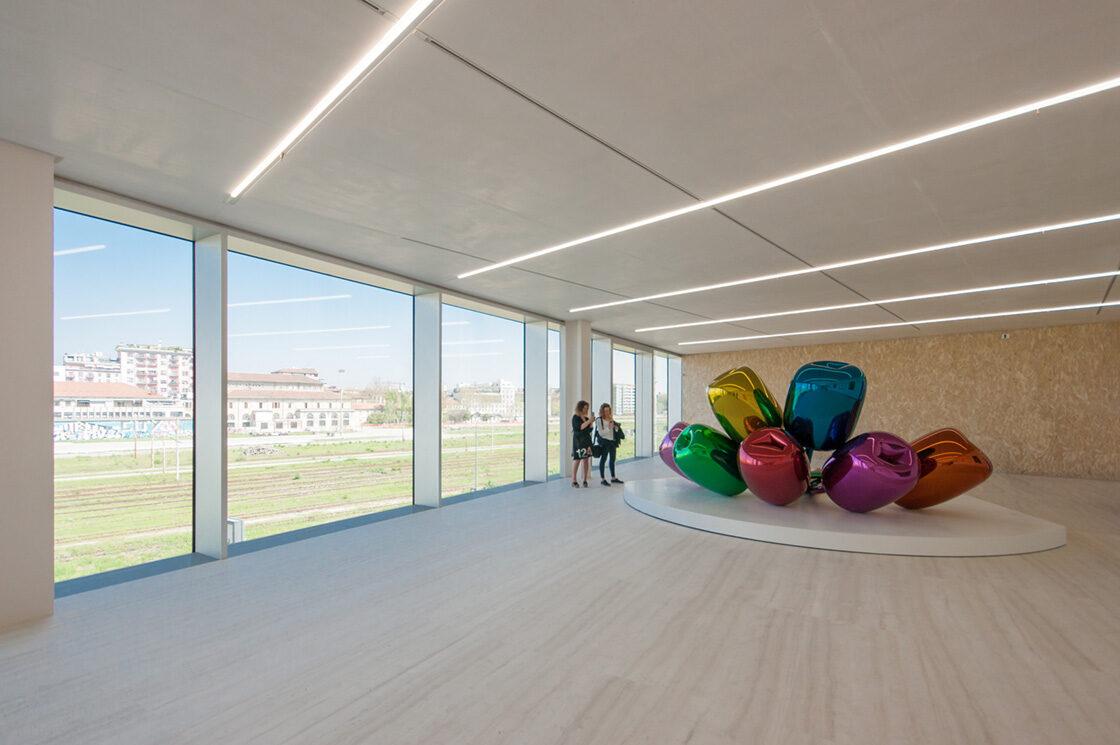 Fondazione Prada, Rem Koolhaas OMA 7 - Riccardo Bianchini Architectural Photography