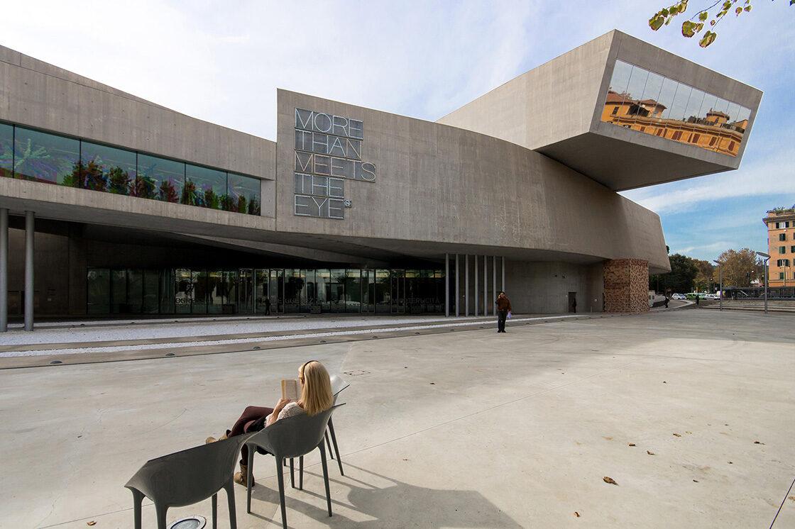 MAXXI, Zaha Hadid - Riccardo Bianchini Architectural Photography