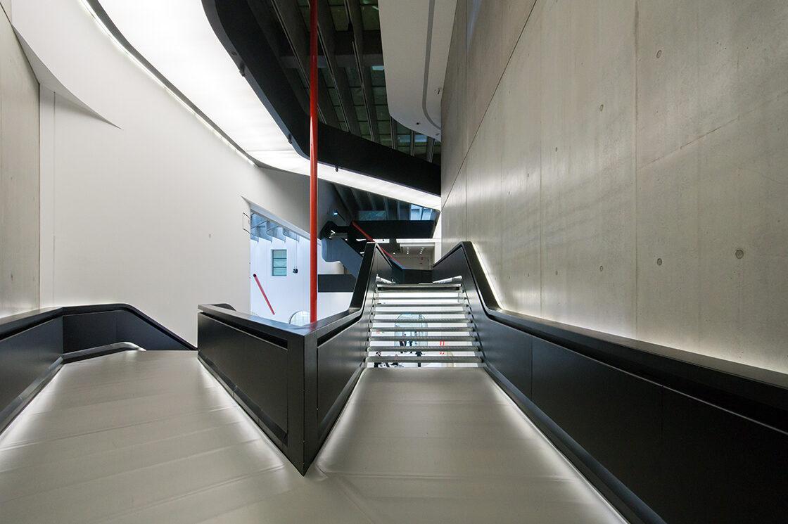MAXXI, Zaha Hadid 5 - Riccardo Bianchini Architectural Photography