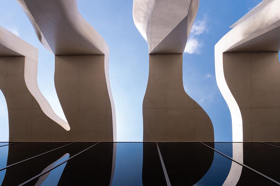 Musée Cocteau Rudy Ricciotti - Riccardo Bianchini architectural photography 1
