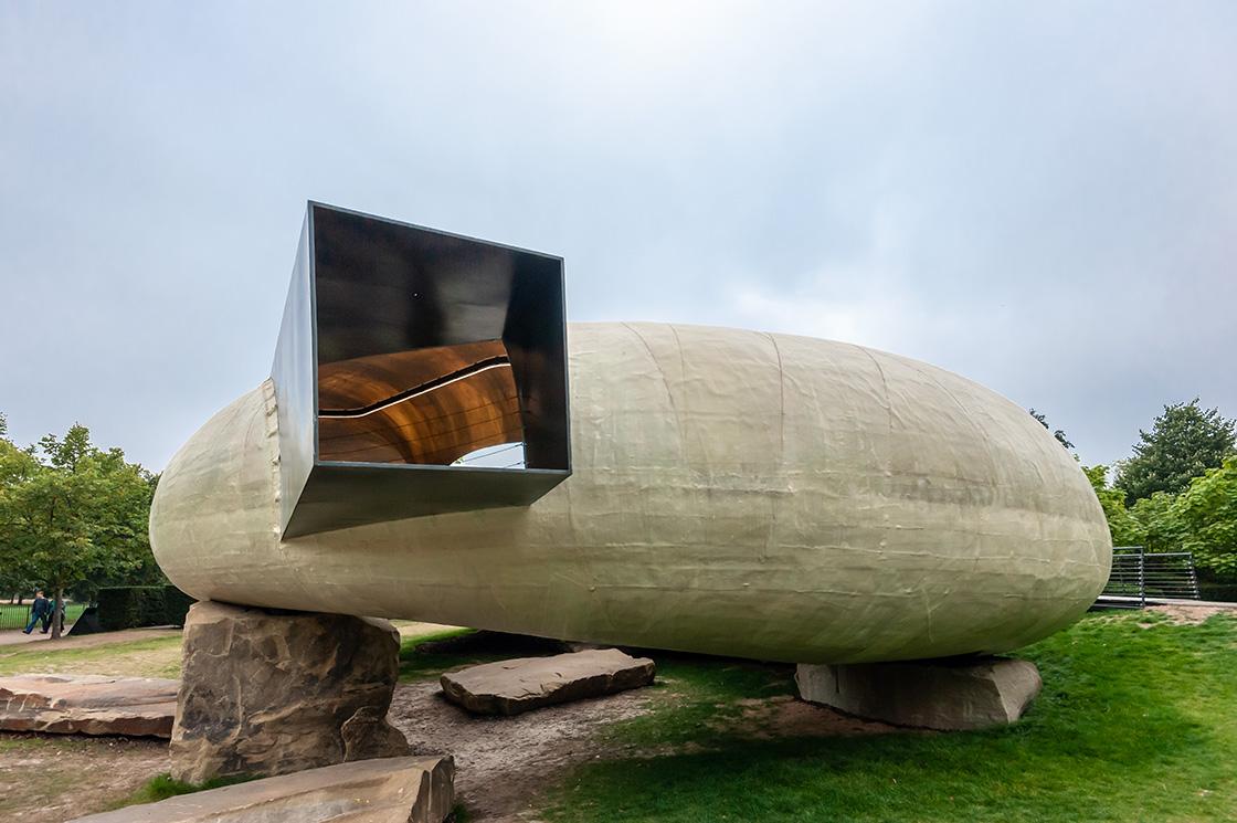Serpentine Pavilion, Smiljan Radic 1 - Riccardo Bianchini Architectural Photography