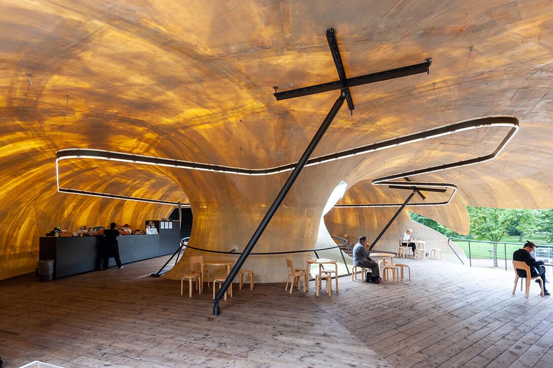 Serpentine Pavilion, Smiljan Radic 2 - Riccardo Bianchini Architectural Photography