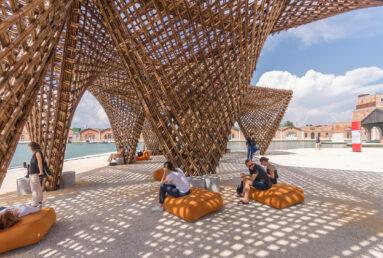 Vo Trong Nghia Bamboo Stalactite pavilion Venice Biennale 3- Riccardo Bianchini photography